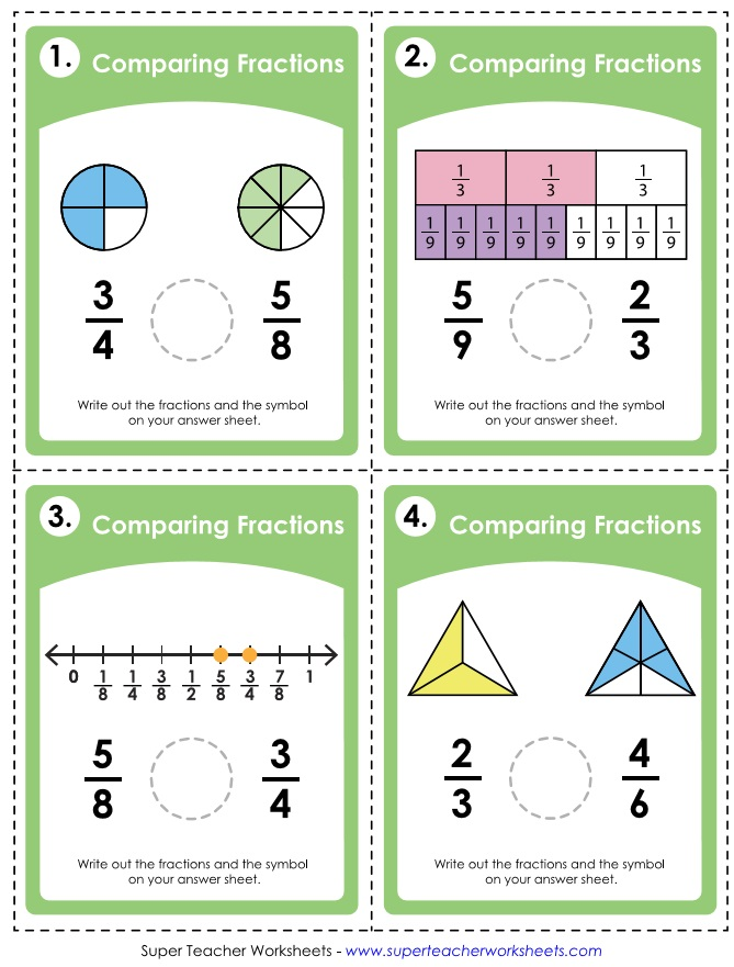 Printable Task Cards for Teachers