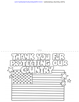 Veteran's Day Printable Card