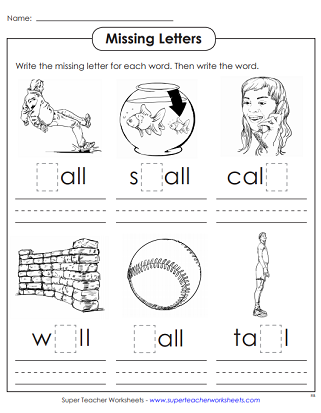 image about Word Family Printable referred to as Term Loved ones Printables (-all Terms)