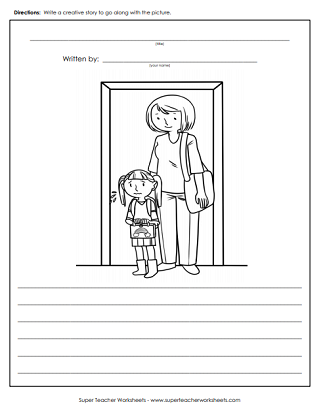 graphic regarding Funny Fill in the Blank Stories Printable identify Worksheets in the direction of Educate Composing - Tale Pics